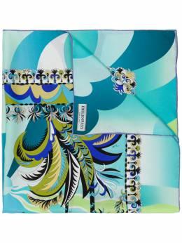 Emilio Pucci шарф с графическим принтом 9EGB229EA22
