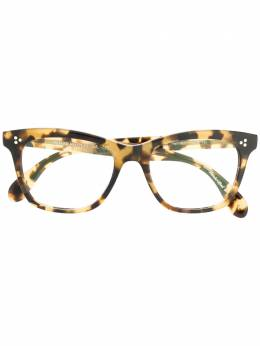 Oliver Peoples очки 'Penney' в оправе с эффектом черепашьего панциря OV5375U