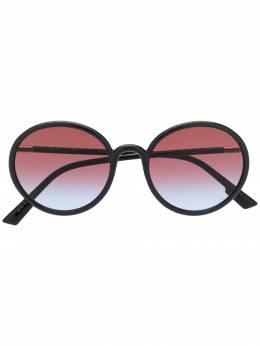 Dior Eyewear затемненные солнцезащитные очки в круглой оправе DIORSOSTELLAIRE2