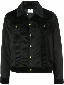 Nasaseasons куртка-рубашка с вышитой надписью VJ001B