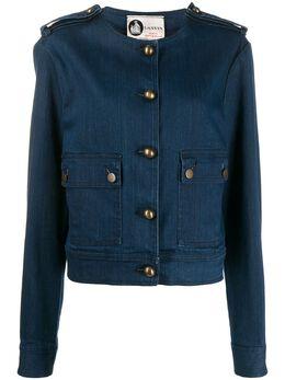 Lanvin Pre-Owned джинсовая куртка 2000-х годов LANV350