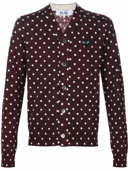 Comme Des Garcons Play кардиган 'Play Polka Dot' AZN0380513