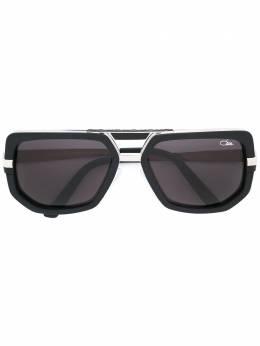 Cazal солнцезащитные очки в геометрической оправе 6623