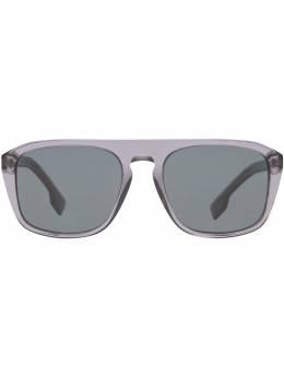 Burberry Eyewear солнцезащитные очки в квадратной оправе 4080528