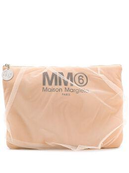 Mm6 Maison Margiela клатч с отделкой из тюля S54WF0038P2727