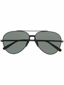Brioni солнцезащитные очки-авиаторы BR0052S