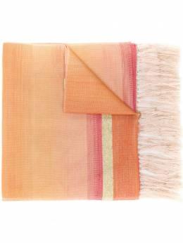 Issey Miyake Pre-Owned 1990's fringed striped scarf MIYA220