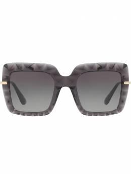 Dolce&Gabbana Eyewear солнцезащитные очки в квадратной оправе DG61115048G