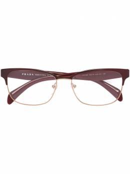 Prada Eyewear оптические очки в квадратной оправе VPR65R