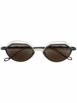 Kuboraum затемненные солнцезащитные очки в квадратной оправе KRSH70GB000000FG