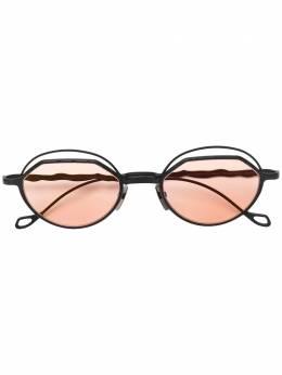 Kuboraum затемненные солнцезащитные очки в квадратной оправе KRSH70BM0000002P