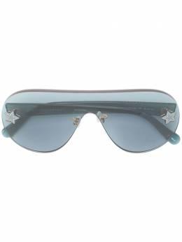 Stella Mccartney Eyewear солнцезащитные очки-авиаторы SC0168S