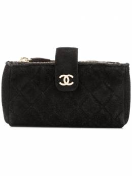 Chanel Pre-Owned стеганая косметичка CSLY1018CHACOIN