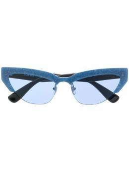 "Miu Miu Eyewear ""солнцезащитные очки в оправе ""кошачий глаз"" MU04US"