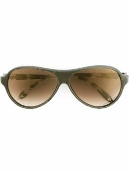 Victoria Beckham солнцезащитные очки с круглой оправой 0232