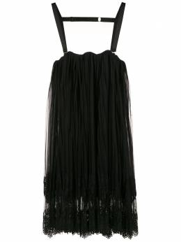A La Garconne платье мини со складками 1190421