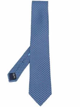 Salvatore Ferragamo галстук с логотипом 712130