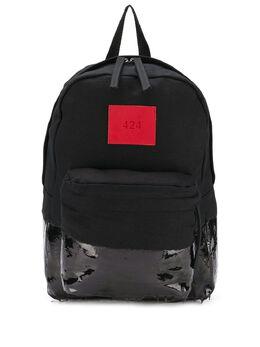 424 рюкзак с виниловой вставкой 424CAW180079