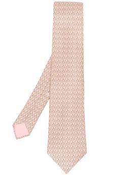 Hermes галстук 2000-х годов с узором pre-owned HERM180L