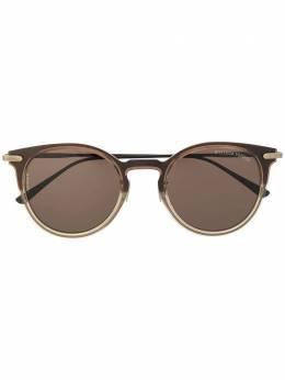 Bottega Veneta Eyewear солнцезащитные очки в округлой оправе BV0211S