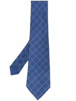 Hermes галстук 2000-х годов с принтом HERM150I