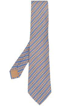 Hermes галстук 2000-х годов с узором pre-owned RMS180AP