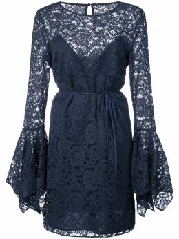 Zac Zac Posen lace pattern flared design dress ZP28551433
