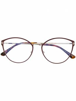 Tom Ford Eyewear классические очки в оправе 'кошачий глаз' TF5573B