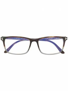 Tom Ford Eyewear классические очки в квадратной оправе TF5584B