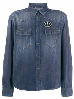 Neil Barrett джинсовая рубашка PBCM1240PM801
