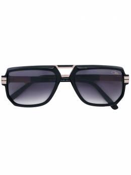 Cazal солнцезащитные очки с квадратной оправой 60133