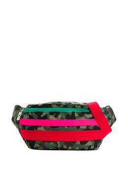 GCDS поясная сумка с камуфляжным принтом FW20M010022