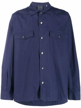 Versace Pre-Owned рубашка на пуговицах 1980-х годов VRS320C