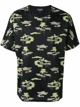 Emporio Armani футболка с камуфляжным принтом 6Z1T6Y1JQ3Z