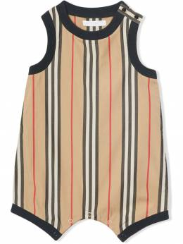 Burberry Kids боди в полоску Icon Stripe 8011195