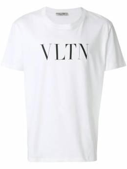 Valentino футболка с принтом слогана UV3MG10V3LE