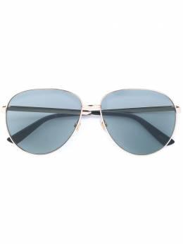 Gucci Eyewear солнцезащитные очки авиаторы GG0138S