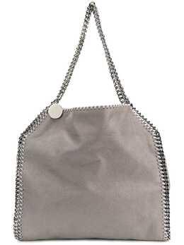 Stella McCartney маленькая сумка-тоут 'Falabella' с серебристой цепочной отделкой 261063W9132