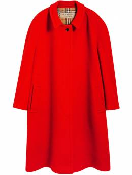 Burberry Double-faced Wool Cashmere Oversized Car Coat 8002453