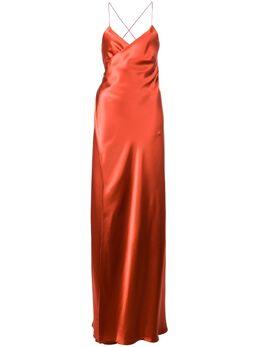 Michelle Mason платье Strappy с запахом M9931