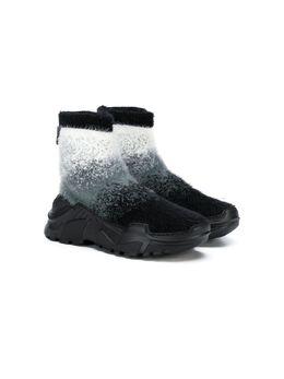 Cinzia Araia Kids кроссовки-носки AK1317