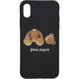 Palm Angels Black Kill The Bear iPhone X Case 192695F03200701GB