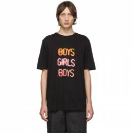 Neil Barrett Black Boys Girls Boys T-Shirt BJT610S M559S