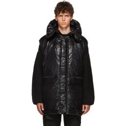 Almostblack Black Nylon Vest 19AW-VE01
