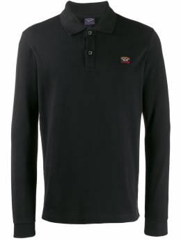 Paul & Shark рубашка-поло с вышитым логотипом C0P1001