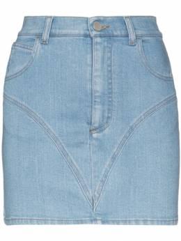 Alessandra Rich джинсовая мини-юбка FAB1840