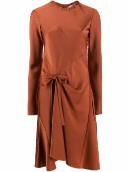 Chloe расклешенное платье с завязками CHC19ARO62138