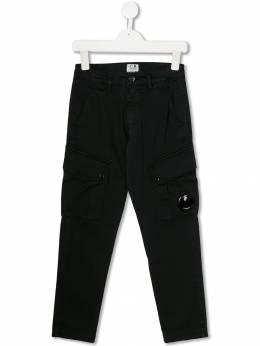 C.P. Company Kids брюки карго прямого кроя 07CKPA041A005531G