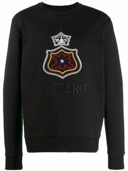 Iceberg толстовка с вышитым логотипом I1PE0526311
