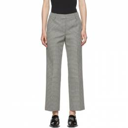 Alexander Wang Black and White Houndstooth Bootleg Trouser 1WC2194166